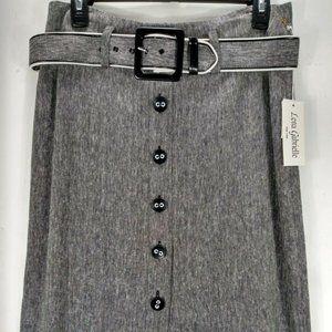 Lena Gabrielle Womans Skirt 6 Straight Rayon New